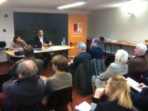 Presentation animé par Laurent de Briey et très bien reçu par le public.