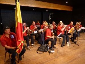 """La fanfare """"L'Ensemble Musical de Beauvechain"""""""