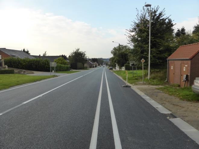 La chaussée de Namur renouvelée
