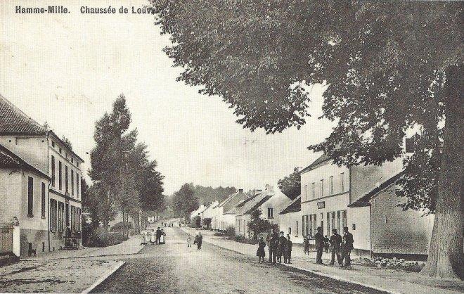 Chaussée de Louvain, à la hauteur de la rue des Claines et rue Scheers