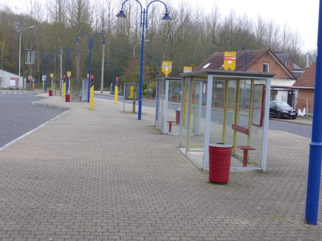 Gare d'autobus d'Hamme-Mille