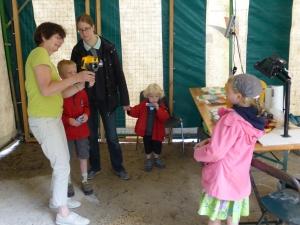 Explication du détecteur de chaleur - apprécié par les enfants