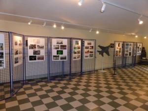 L'exposition dedié au F16