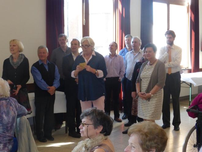 Le bienvenue par le comité du cdH à Beauvechain