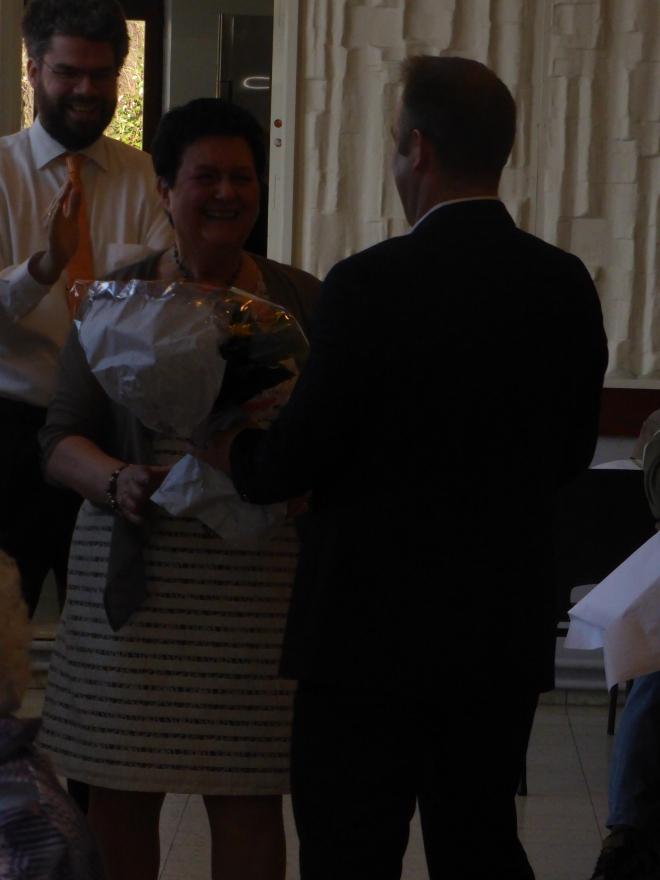 Occasion aussi de remercier Marie-José Frix, chenille ouvrière de notre section