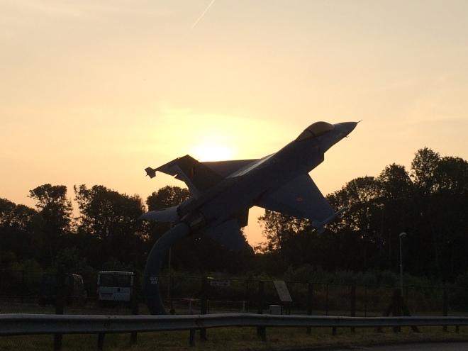 Le F-16 à La Bruyère