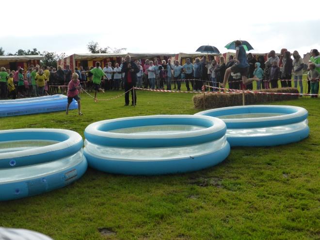 La course piscine - course mythique plein d'action